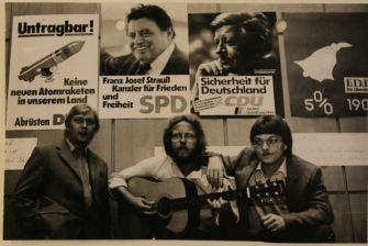 Haus der Jugend in Dortmund vor der Bundestagswahl 1980